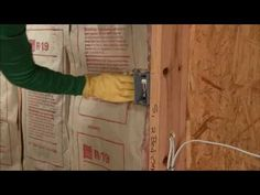 Owens Corning wall insulation keeps your home comfortable and quiet. Learn how to install insulation in a weekend with this video.