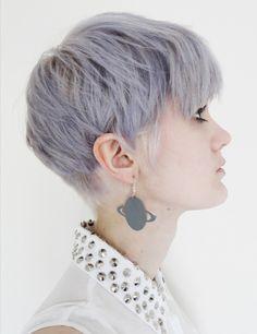 Pastel short hair