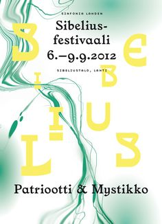 Sibelius Festival on Behance