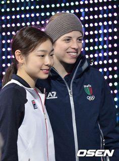 OSEN - [사진]김연아-코스트너, '마지막 올림픽 무대, 사진으로'