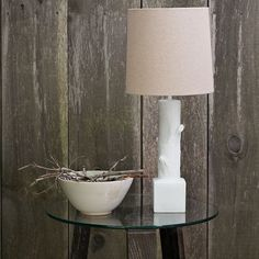 Ceramic Branch Table Lamp from West Elm