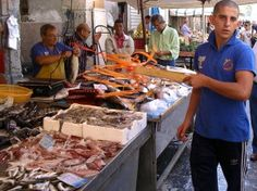 Christmas Eve Feast of 7 Fish Recipe Roundup      December 20th, 2014     By Gianni Mola  Fish Market, Ortigia Sicily