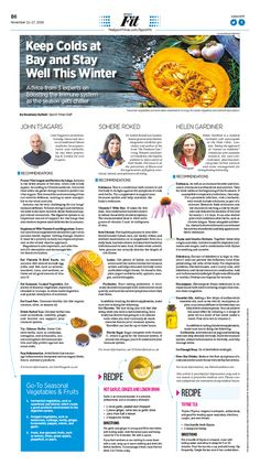 Keep Colds at Bay and Stay Well This Winter|Epoch Times #Health #newspaper #editorialdesign