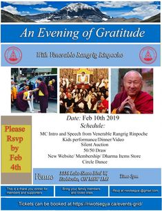 Riwotsegya Dinner with Venerable Rangrig Rinpoche Dance 4, Check Email, Silent Auction, Rsvp, Hold On, Canada, Dinner, Dining, Naruto Sad