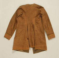 Coat Date: 1690 Culture: American or European Accession Number: C.I.39.13.78