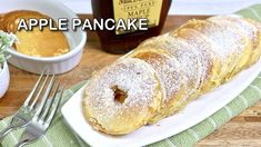 Apple Pancake Recipe | Delicious and Nutritious Apple Pancake Filipino Desserts, Filipino Recipes, Apple Pancake Recipe, Snack Recipes, Snacks, Pancakes, French Toast, Yummy Food, Sweets