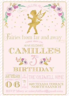 The invitation. Calling all fairies!