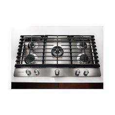 kitchenaid 36 inch 6 burner gas rangetop commercial style google