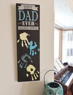 Let's give Dad something he'll truly cherish. Here are 7 Homemade Gifts for Father's Day you can make with your Dad this year. gift for toddlers 7 Homemade Gifts for Father's Day - Happily Ever After, Etc. Homemade Fathers Day Gifts, Diy Gifts For Dad, Fathers Day Crafts, Good Fathers Day Gifts, Fathers Day Ideas, Handmade Father's Day Gifts, Diy Father's Day Gifts Easy, Fathers Day Presents, First Fathers Day
