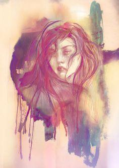 model- Devon Aoki #olgadynkina #watercolor #portrait #women #fashion #illustrator #illustration #draw #fashiongirl #art #face #Asia #painting #procreate #modeltration #girl #DevonAoki #Asian #model