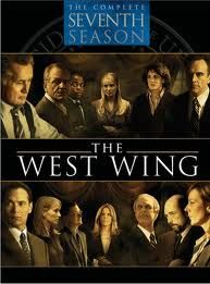"The West Wing: The Complete Seventh Season created by Aaron Sorkin, starring Martin Sheen, Stockard Channing and Allison Janney. ""Inside the lives of staffers in the west wing of the White House. Best Tv, The Best, Wings Tv, Bradley Whitford, Martin Sheen, Tv Show Quotes, Great Tv Shows, Old Tv, Season 7"