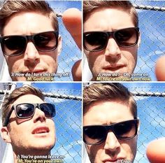 Jensen doesn't know how to end his livestream video...