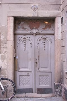 Stockholm, white doors