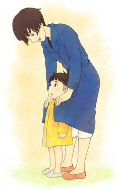 "Lisa with son Sosuke from ""Ponyo"" (released 2008)"