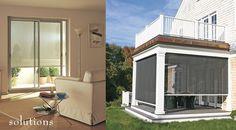 Shadeandshutter.com (in Hyannis) Retractable Window & Porch Screens