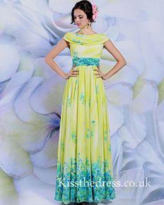 print prom dress DLQ