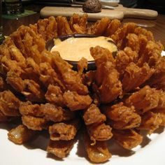 Outback Steakhouse Blooming Onion Recipe  see recipe below  for air fryer recipe suggestions