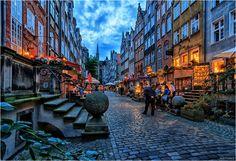 - Frauengasse - - Bild & Foto von Winfried Mossa aus Gdansk - Fotografie (30334741) | fotocommunity