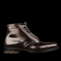 UNIONMADE - Alden - Kirkwood Cordovan Cap Toe Boot in Color 8 3962HC