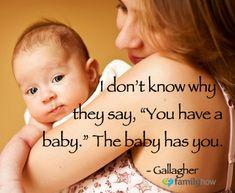 My #baby has me!