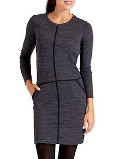 Destiny Dress - Our sportiest dress for hitting up the gym and after, made from our live-in-soft retro Techie Sweat fabric.