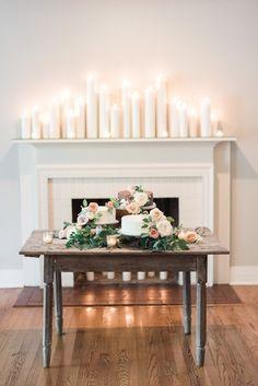 Romantic candlelit w
