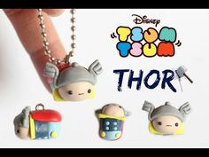 Disney Thor Tsum Tsum polymer clay tutorial