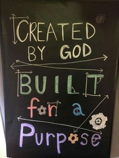 Maybe for the chalk board in our Imagination Station room!