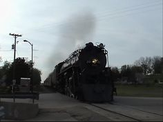 """Milwaukee Road 261 Fights Traffic on the CP En Route to """"Public Enemies"""" Filming - YouTube"""