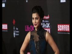 Shruti Hassan | Red Carpet of LIFE OK SCREEN AWARDS 2014.