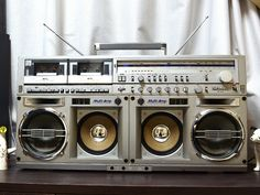 Very Rare SHARP GF-919 THE SEARCHER-W Boombox Ghettoblaster Japan Model GF-777.....................Please save this pin. .............................. Because for vintage collectibles - Click on the following link!.. http://www.ebay.com/usr/prestige_online