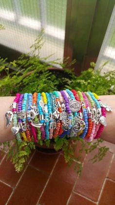 wholesale Bracelets  Boho Chic  stretch bracelets  by TresJoliePT