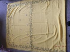 The Craft Gallery : Hand Embroidered Saree - Grandma's Creation