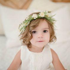 >> Click to Buy << 2017 New Arrival Kids Children Flowers Garland Crown Headband Headwear Wedding Party Girls Hairband Beach Hair Accesssories #Affiliate