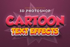 Cartoon Text Effects - Add-Ons