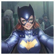 Commission for yey! another Batgirl plus Harley! I'm really having fun here Batgirl and Harley Quinn © DC ComicsArt by Batwoman, Batman And Batgirl, Batman Art, Batman Meme, Nightwing, Comic Book Characters, Comic Character, Comic Books Art, Comic Art
