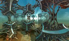 Cubic Woods - Squared - Fractal 3D