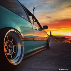 Honda Civic Hatchback, Civic Sedan, Honda Crx, Civic Ef, Slammed Cars, Honda Prelude, Rims For Cars, Street Racing, Import Cars