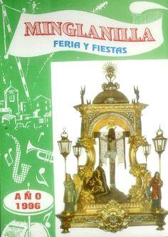 Feria y fiestas en Minglanilla (Cuenca), en honor a su patrón el Cristo de la Salud. Del 7 al 16 de septiembre de 1996. Exhibición de animales disfrazados, con premio para el más original, grande y pequeño. #Fiestaspopulares #Minglanilla #Cuenca