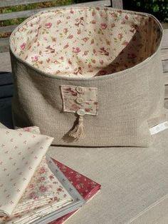 Nice. fabric basket