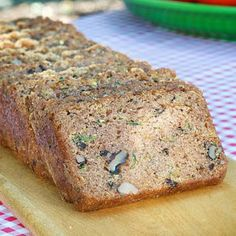 A sure sign of summer is too much zucchini! This delicious family recipe solves the dilemma with a quick and easy zucchini nut bread recipe the whole family will enjoy. Great with a cup of coffee or tea for breakfast, as an afternoon snack topped with a shmear of cream cheese or as a late night dessert on the front porch.