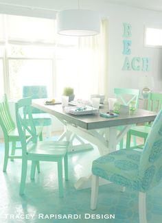 From FLORIDA BEACH DWELLER: https://www.pinterest.com/floridabeachdw/  Sarasota Beach House by Tracey Rapisardi.