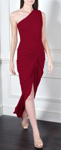GORGEOUS COUTURE - The Liliana Maxi Oxblood - Hire £69