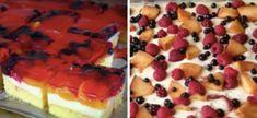 Rychlé a jednoduché řezy, které po ochutnání budete chtít každý den recept | iRecept.cz Maxi King, Swiss Roll Cakes, Waffles, Picnic, Cheesecake, Rolls, Sweets, Cookies, Breakfast