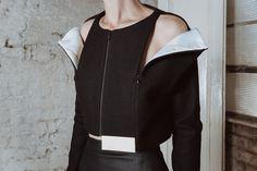 Charlotte Ham ICE Void Jacket  Conceptual fashion exploring negative space.