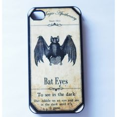 Case iphone 6 Iphone 5 iphone 4/4s5S 5C Vintage Style Bat gothic goth... ($16) ❤ liked on Polyvore featuring accessories, tech accessories, iphone cell phone cases, apple iphone cases, metal iphone case, iphone cover case and iphone cases
