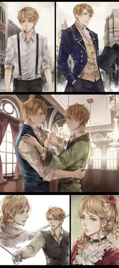 Tags: Axis Powers: Hetalia, France, United States, United Kingdom, Allied Forces, Mano-chan