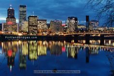 Portland, Oregon....Dad in law lives on the river here.... so sweet!  Portland is AMAZING