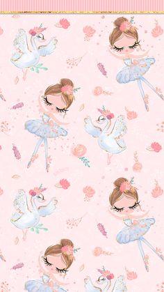 Phone Wallpapers HD Cute Pink Swan Lake Ballerina - by BonTon TV - Free Backgrounds wallpapers wallpaper pozadine bontontv 807270301937824893