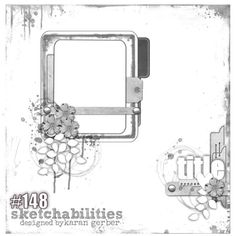 Farewell to Sketchabilities: Scrapbooking layout using sketch Scrapbook Layout Sketches, Scrapbook Templates, Digital Scrapbooking Layouts, Scrapbook Designs, Card Sketches, Baby Scrapbook, Scrapbook Cards, Page Maps, Photo Sketch